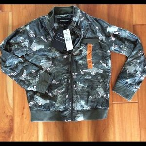 Members Only Camouflage bomber Jacket size 12